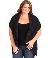 DKNY Jeans - Plus Size Oversized Cocoon Sweater