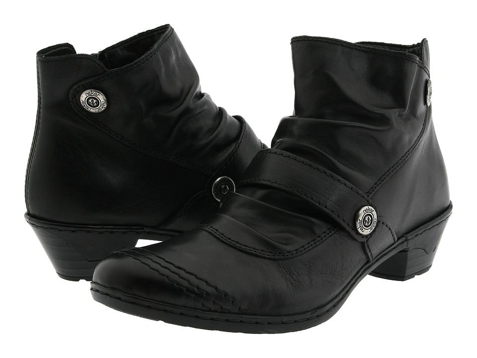 Rieker - 76963 Lynn 63 (Black) Women