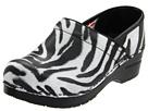 Sanita - Professional Timber (Zebra Laser Cut/Printed Leather) - Footwear