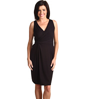 Anne Klein - V-Neck Side Twist Dress