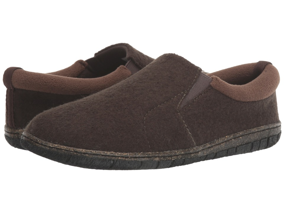Foamtreads Desmond Brown Mens Slippers