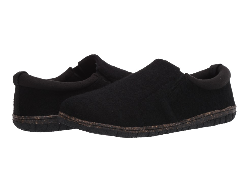 Foamtreads Desmond Charcoal Mens Slippers