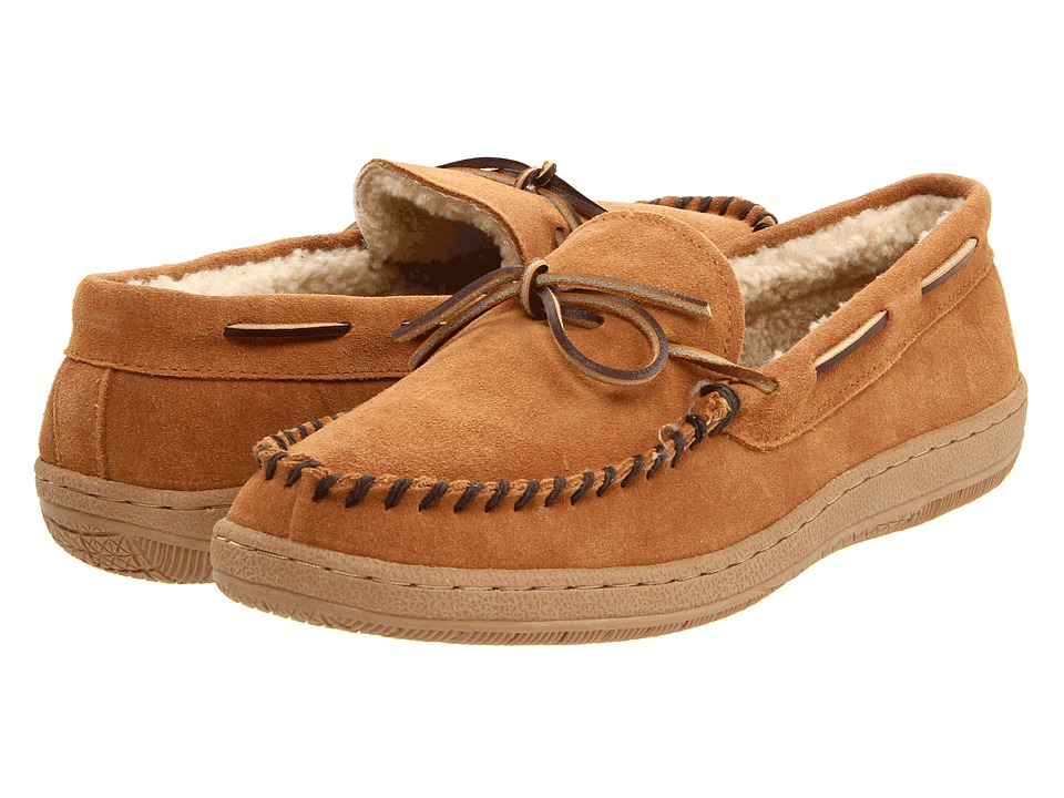 L.B. Evans - Morgan (Tan Suede) Mens Slippers