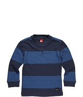 Quiksilver Kids - Snit Stripe L/S Crew Neck Shirt (Toddler/Little Kids)