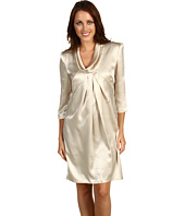 ABS Allen Schwartz - 3/4 Sleeve Roll Collar Dress
