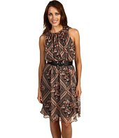 ABS Allen Schwartz - Sleeveless Dress w/Keyhole Front and Back
