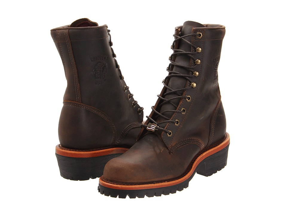 Chippewa - Apache Logger (Chocolate) Mens Boots