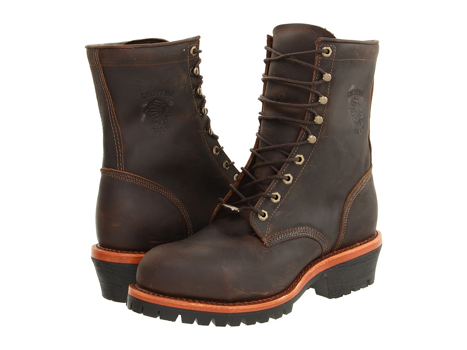 Chippewa - Apache Steel Toe Logger (Chocolate) Mens Boots