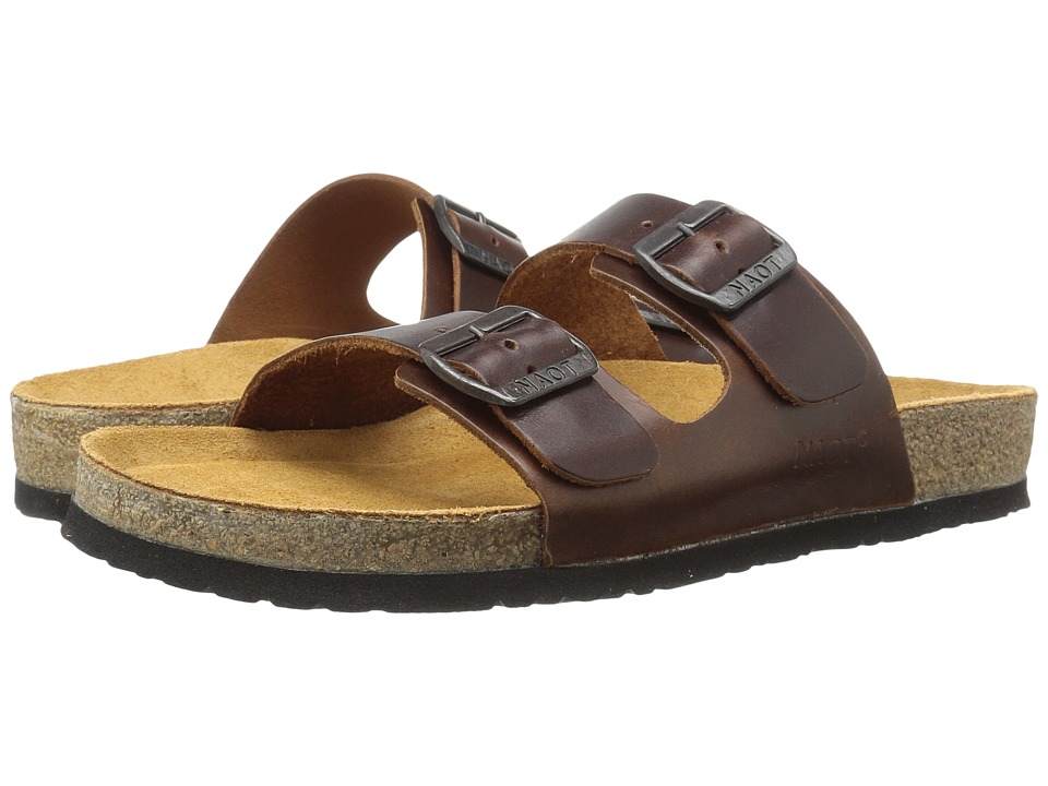 Naot - Santa Barbara (Buffalo Leather) Men's Sandals