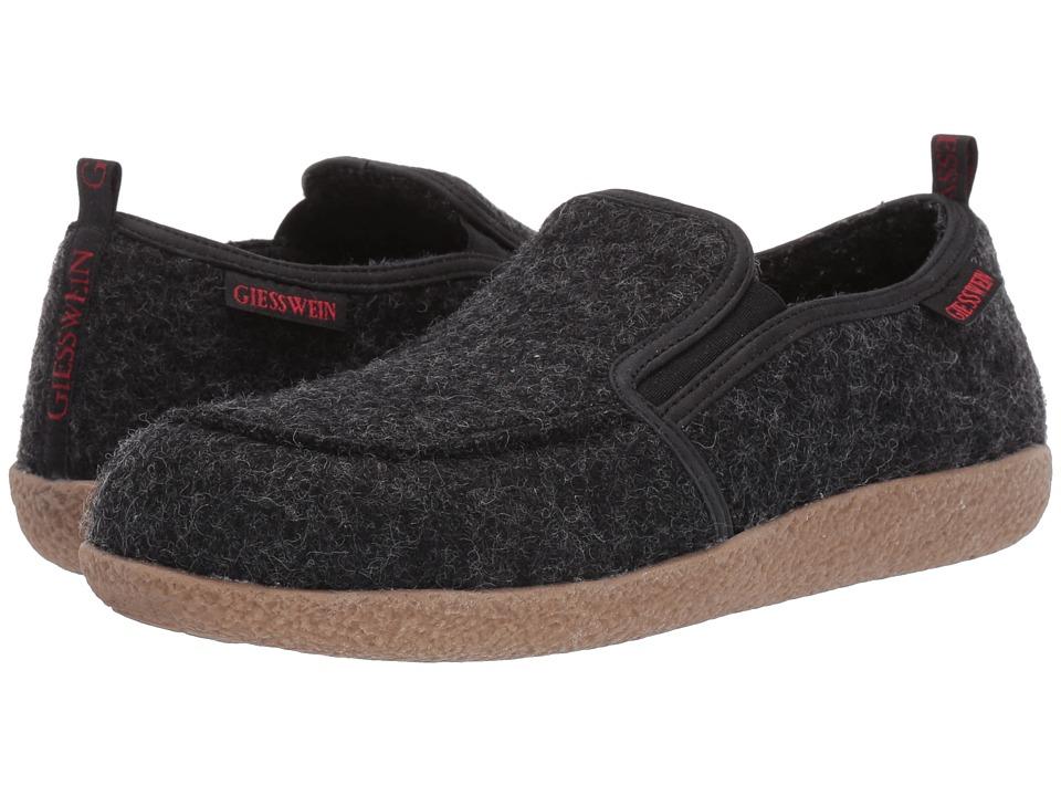 Giesswein Innsbruck Charcoal Slippers