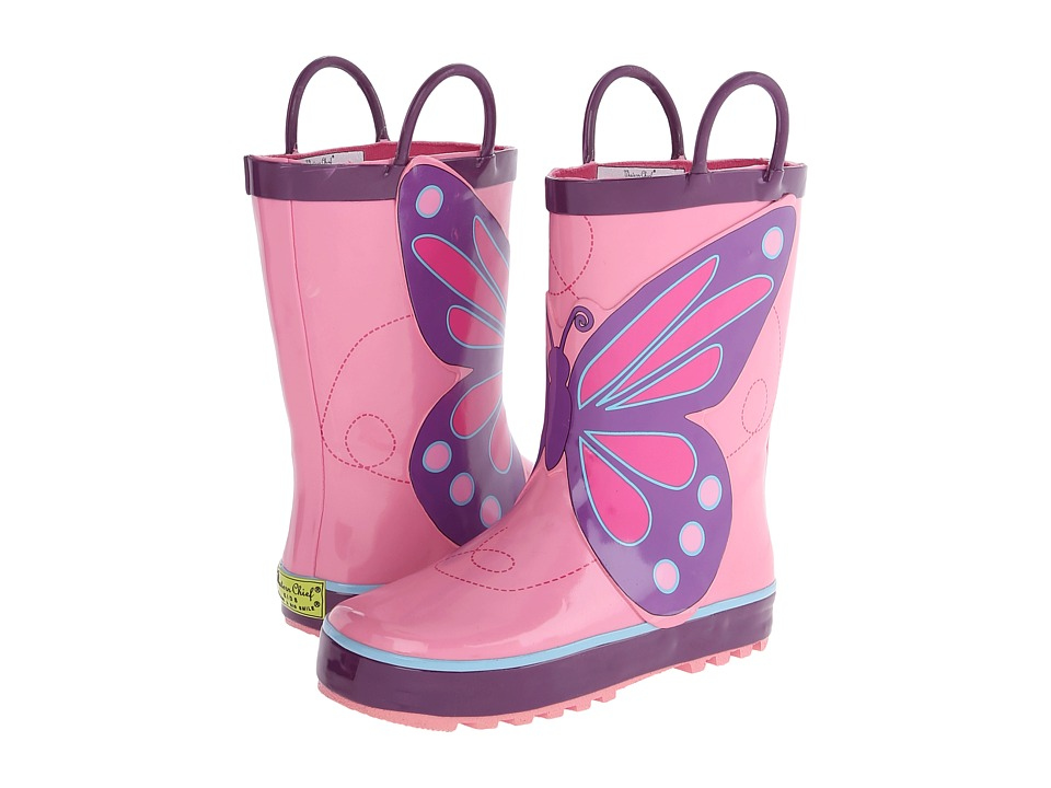 Western Chief Kids Wings Rainboot (Toddler/Little Kid/Big Kid) (Pink) Girls Shoes