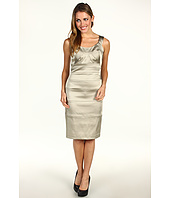Jax - Spliced Satin Sheath Dress Cabo