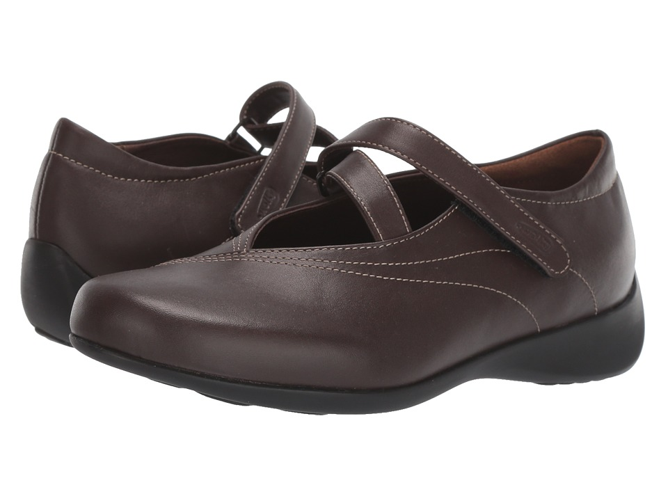 Wolky Passion (Cafe Smooth Leather) Flats