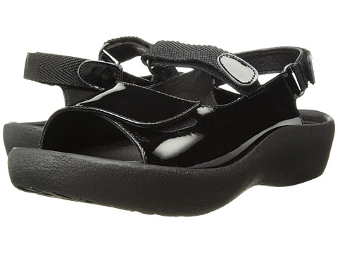 Wolky Jewel - Black Patent Leather
