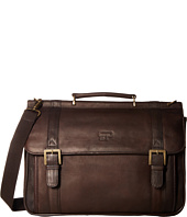Culture Phit - Leather Dowelrod Portfolio/Computer Case