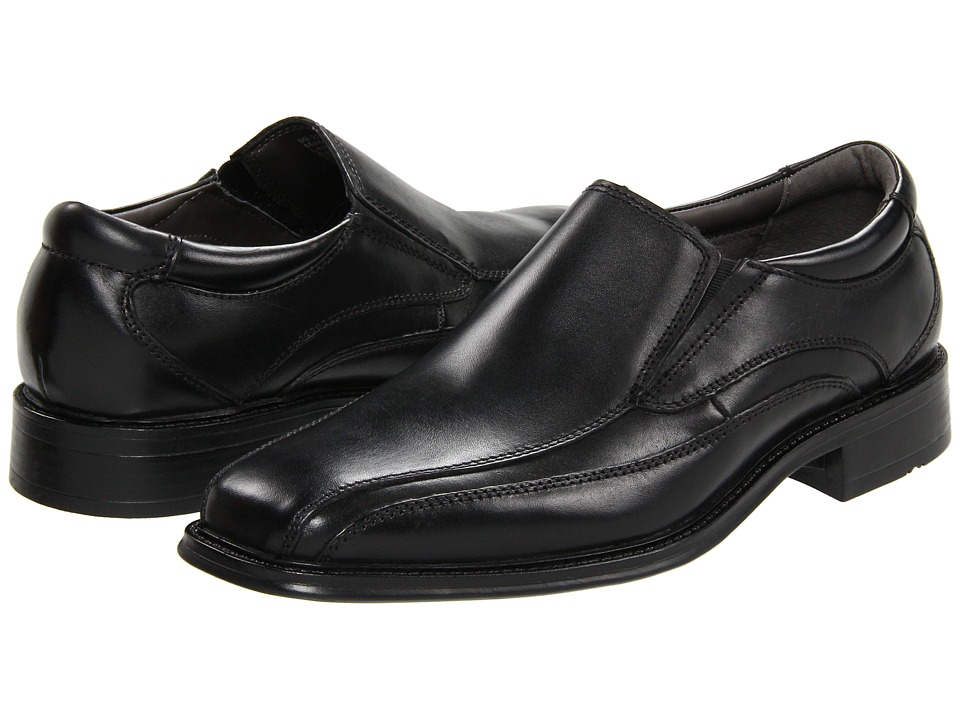 Dockers Franchise (Black Polished Leather) Men