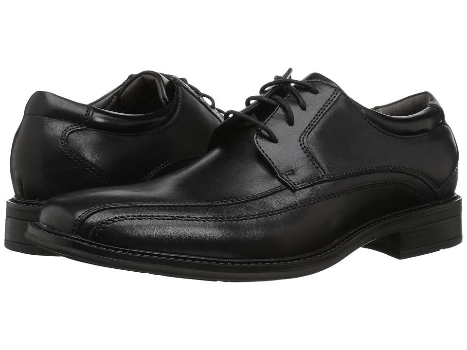 Dockers - Endow Bike Toe Oxford (Black Polished Leather) Mens Shoes