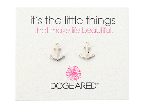 Dogeared It's The Little Things Anchor Studs