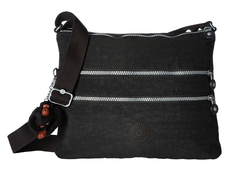 Kipling - Alvar Crossbody Bag (Black) Cross Body Handbags