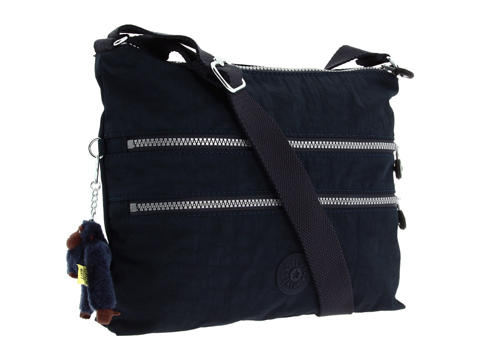Kipling - Alvar Crossbody Bag (True Blue) Cross Body Handbags