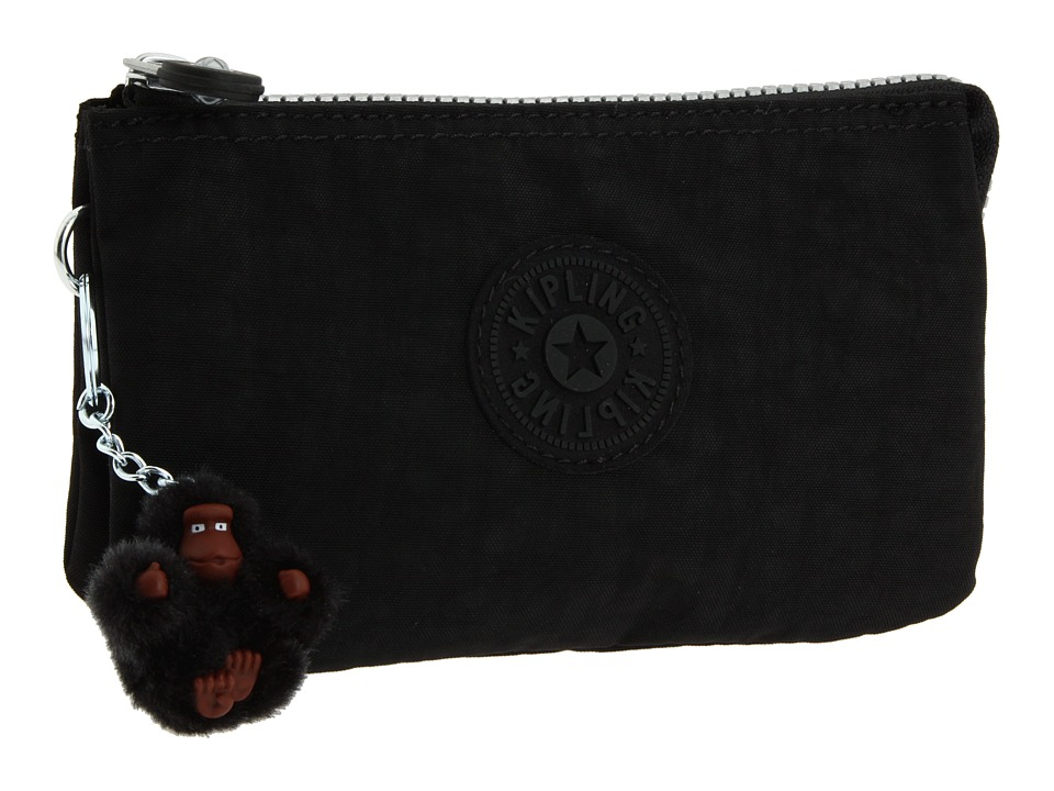 Kipling - Creativity Large Pouch (Black) Clutch Handbags