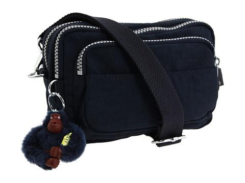 Kipling Multiple Belt Crossbody Bag - True Blue