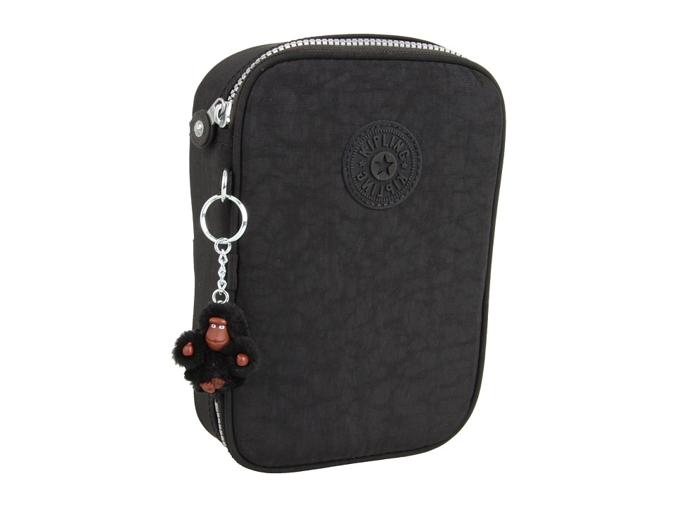 Kipling 100 Pens Case Black Travel Pouch