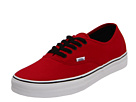 Vans - Authentic (Chili Pepper/Black) -