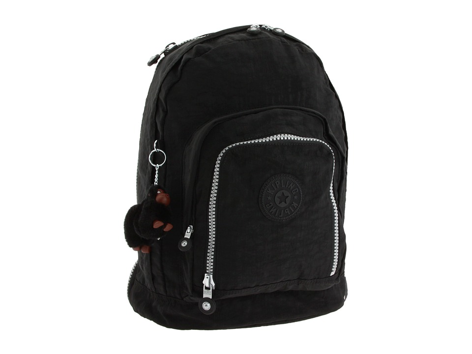 Kipling - Hiker Expandable Backpack (Black) Backpack Bags