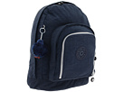 Kipling - Hiker Large Expandable Backpack (True Blue) - Bags and Luggage