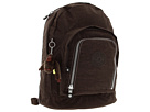 Kipling - Hiker Large Expandable Backpack (Espresso) - Bags and Luggage