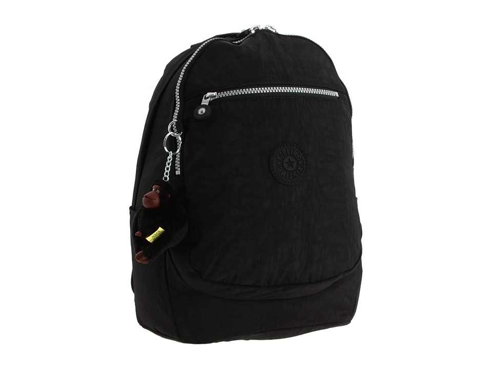 Kipling - Challenger II Backpack (Black) Backpack Bags