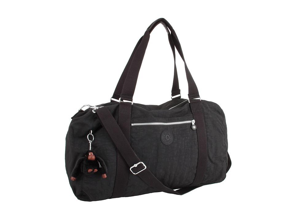 Kipling - Itska Solid Duffle Bag (Black) Duffel Bags