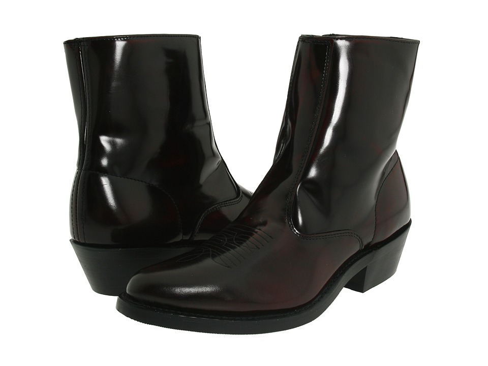 1960s Mens Shoes- Retro, Mod, Vintage Inspired Laredo - Long Haul Burnt Apple Cowboy Boots $119.95 AT vintagedancer.com