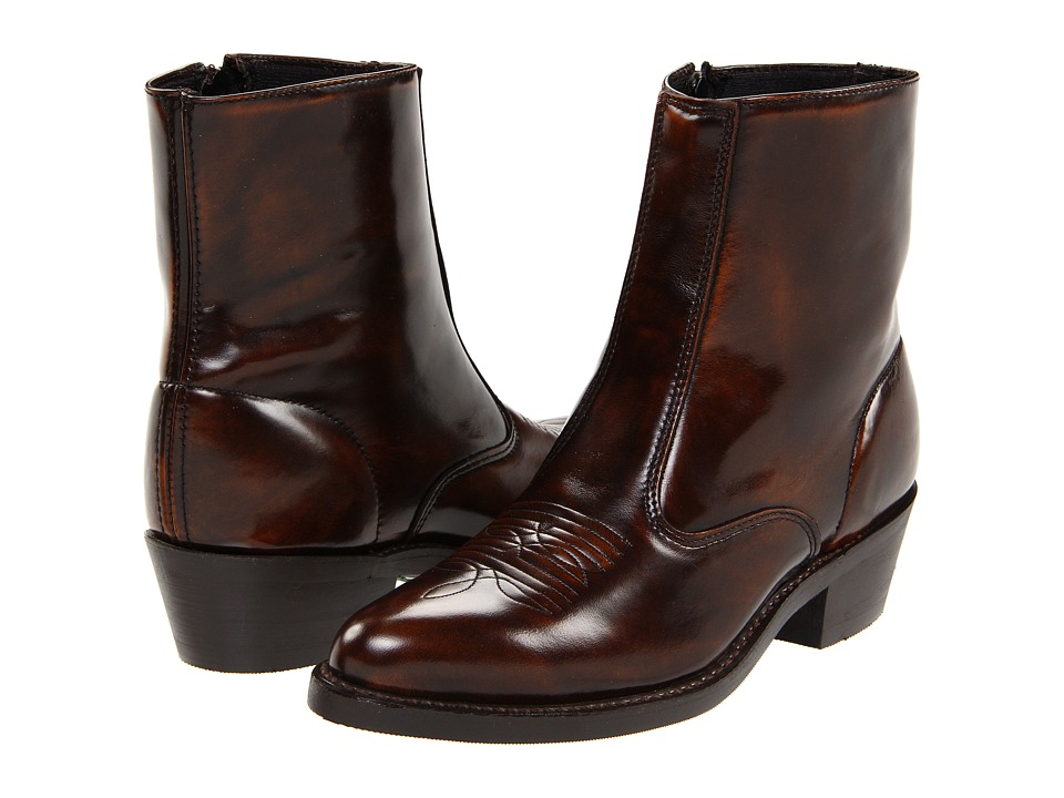 1960s Mens Shoes- Retro, Mod, Vintage Inspired Laredo - Long Haul Antique Brown Cowboy Boots $119.95 AT vintagedancer.com