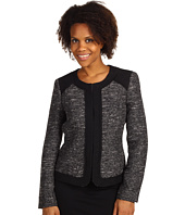 Anne Klein - Textured Jewel Neck Jacket