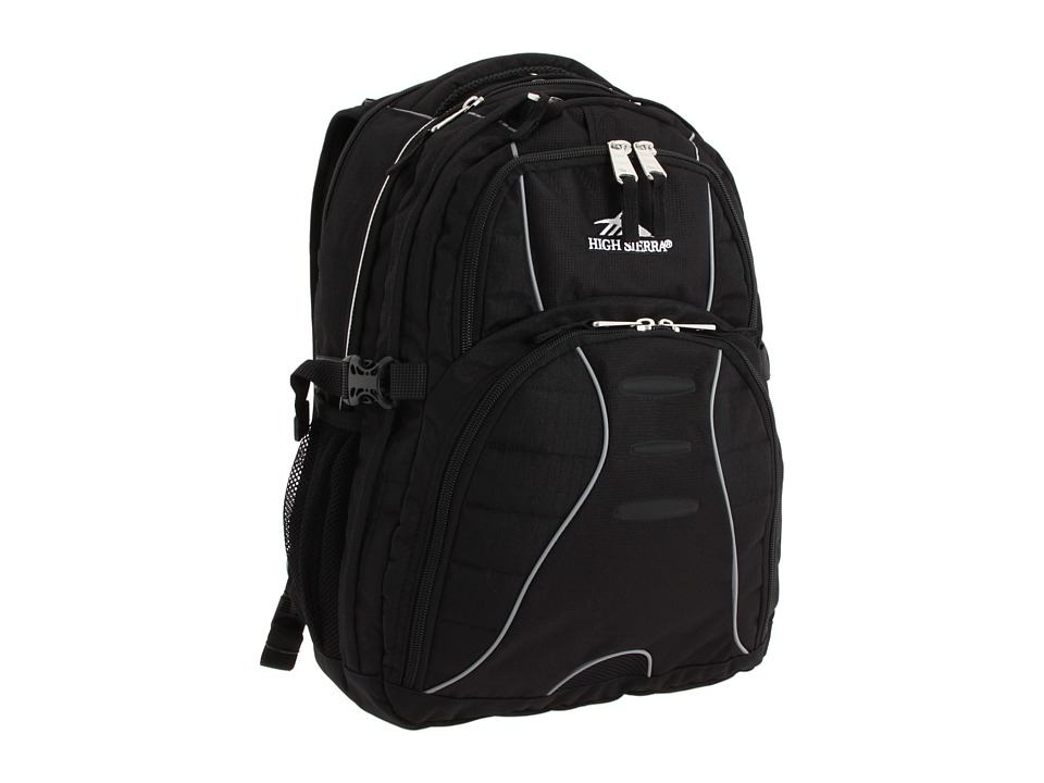 High Sierra - Swerve Backpack (Black) Backpack Bags