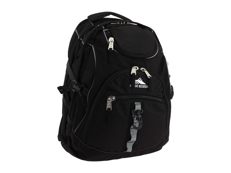 High Sierra - Access Backpack (Black) Backpack Bags