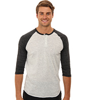 Alternative Apparel - 3/4 Raglan Henley