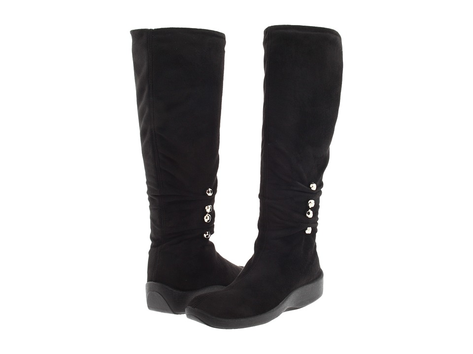Arcopedico-Liana  (Black Suede) Womens  Boots