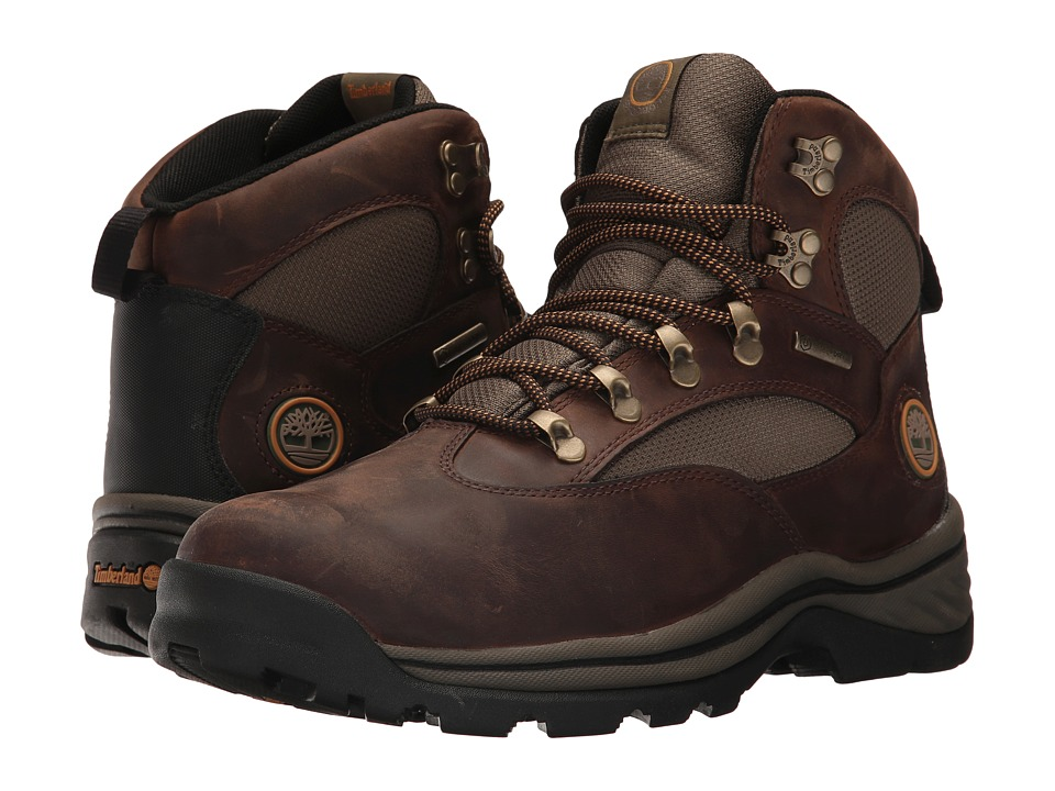Timberland - Chocorua Trail Mid with Gore-Tex Membrane (Brown) Men