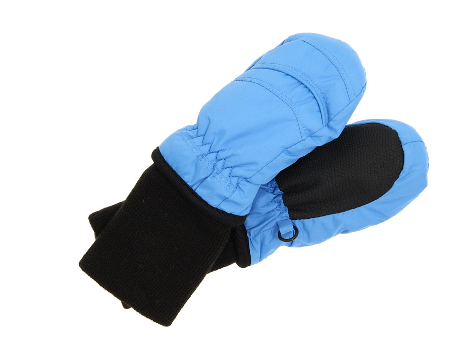 Tundra Boots Kids Snow Stoppers Mittens (Infant/Toddler/Little Kids/Big Kids) (Blue) Extreme Cold Weather Gloves