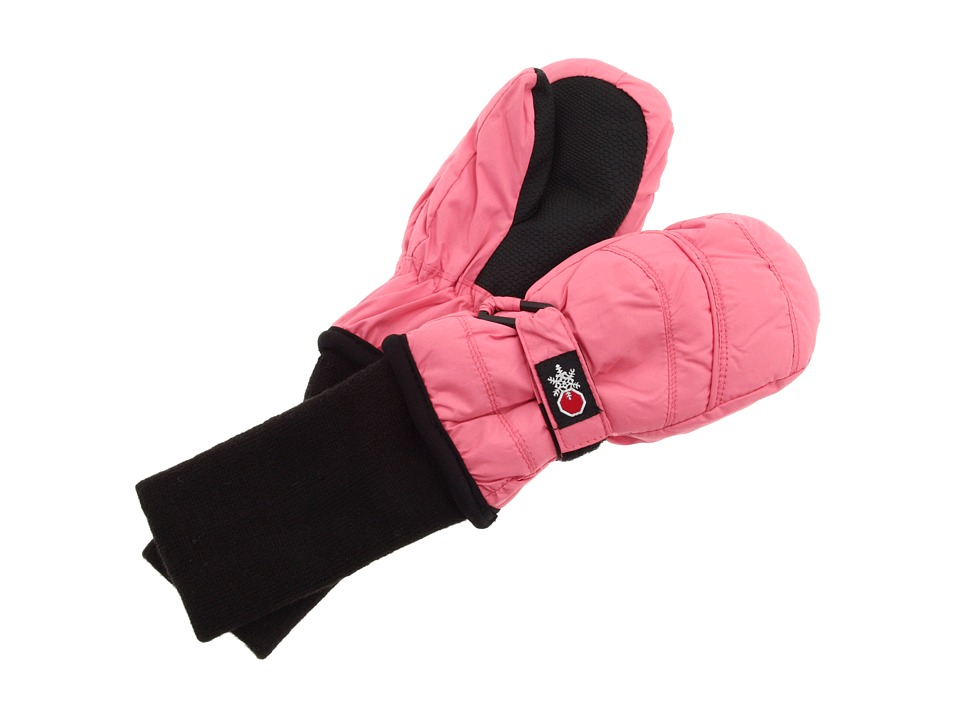 Tundra Boots Kids Snow Stoppers Mittens (Little Kids/Big Kids) (Pink) Extreme Cold Weather Gloves