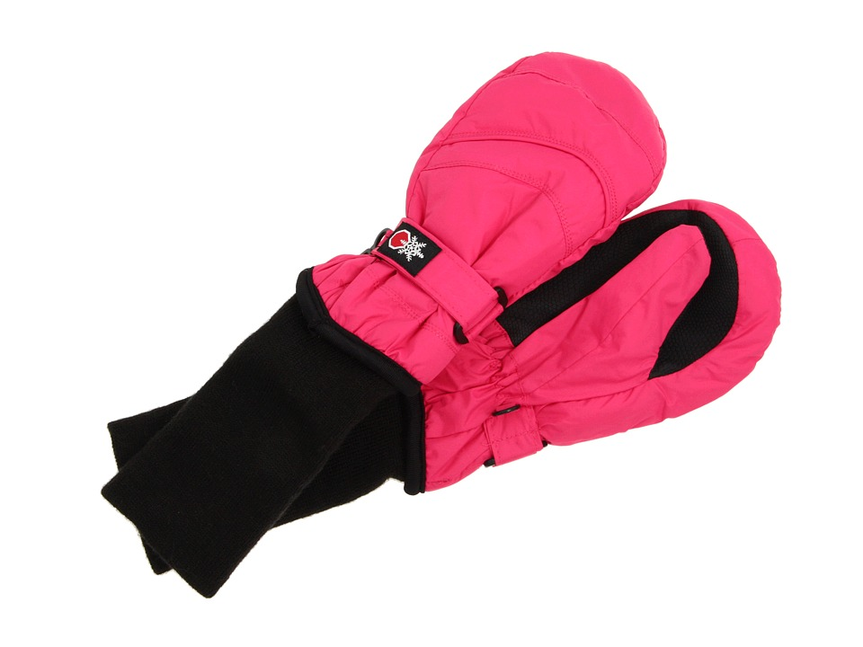 Tundra Boots Kids Snow Stoppers Mittens (Little Kids/Big Kids) (Fuchsia) Extreme Cold Weather Gloves