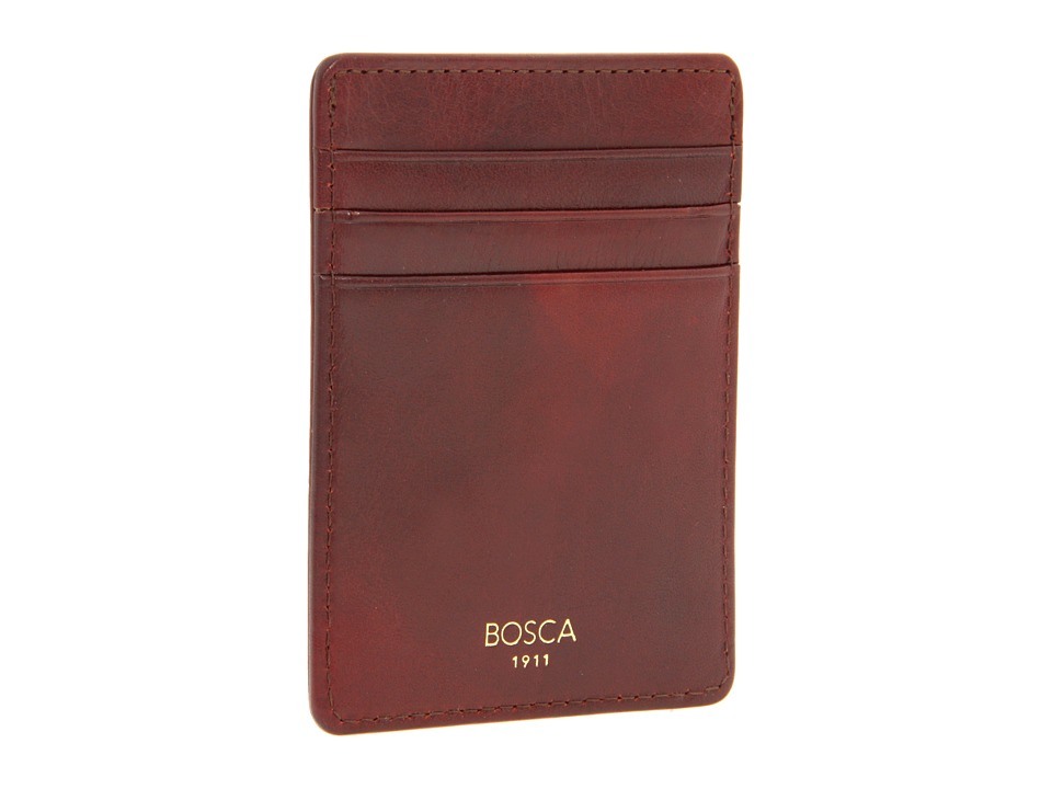 Bosca Old Leather Collection - Deluxe Front Pocket Wallet...