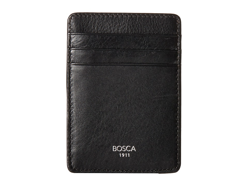 Bosca Bosca - Nappa Vitello Collection - Deluxe Front Pocket Wallet