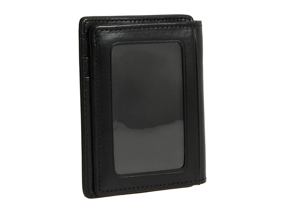 Bosca - Old Leather Collection - Front Pocket Wallet (Black Leather) Bill-fold Wallet