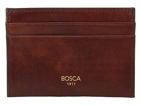Bosca Old Leather Collection - Weekend Wallet - Dark Brown Leather