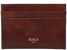 Bosca Old Leather Collection Weekend Wallet (Dark Brown Leather)