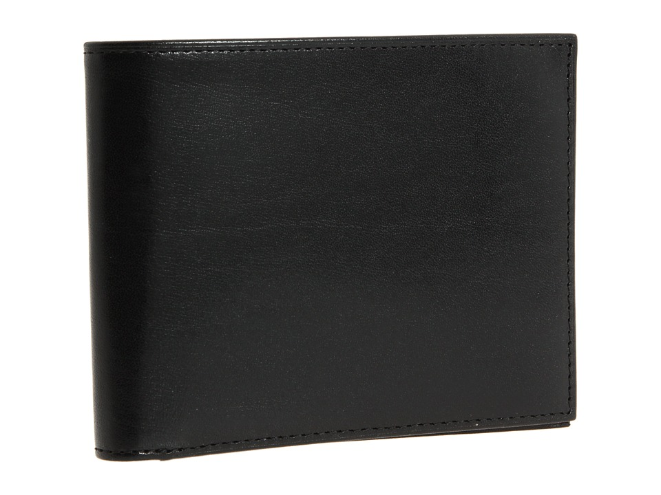 Bosca - Old Leather Collection - Executive ID Wallet (Black Leather) Bi-fold Wallet